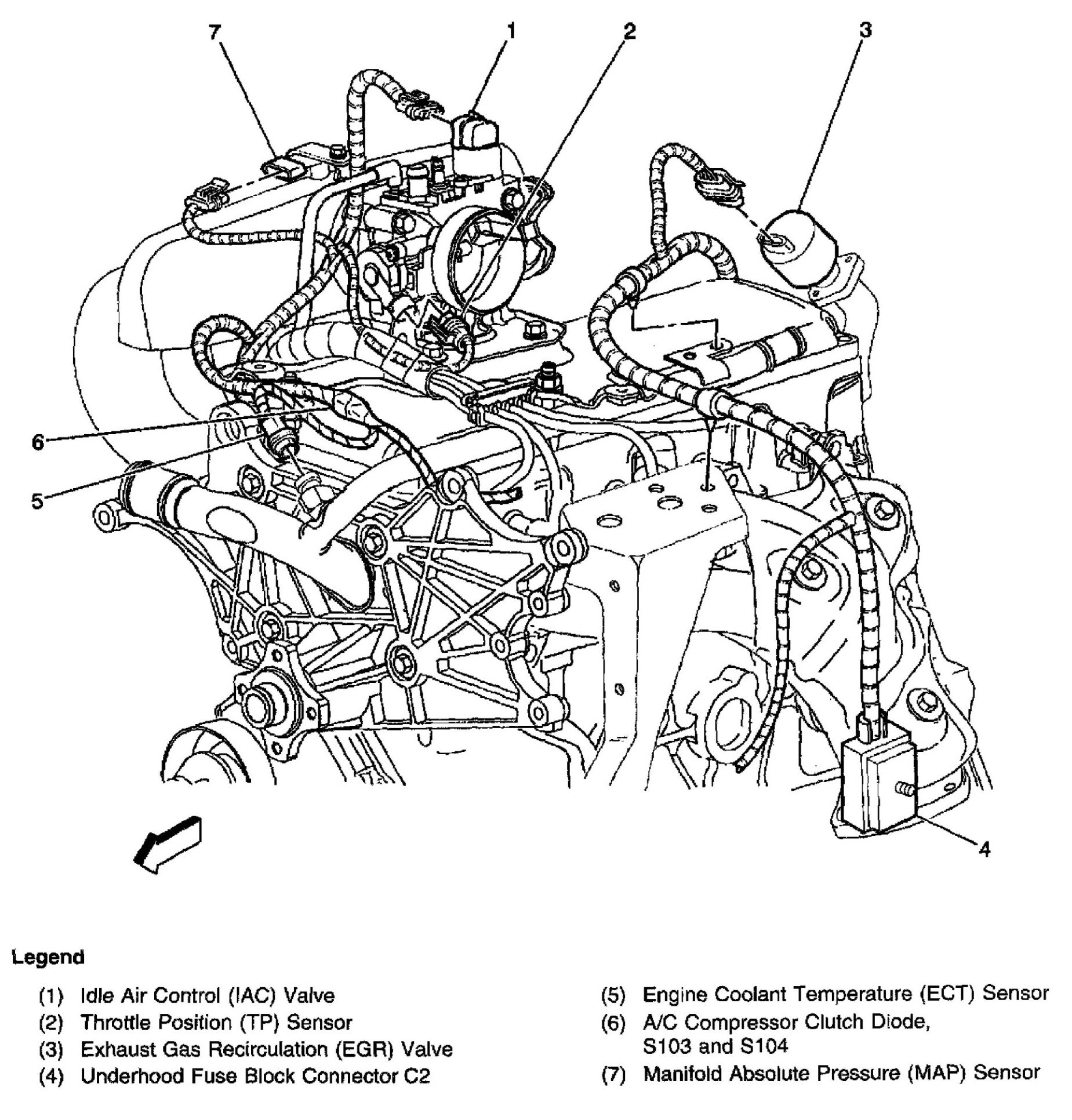 22l Engine Diagram Electrical Wiring Diagrams Chevrolet 3 4 2 2l S10 Free For You U2022 99 Camry