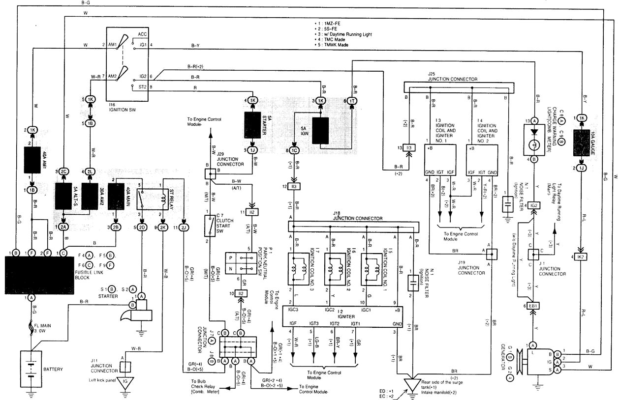 1993 toyota paseo engine diagram. Black Bedroom Furniture Sets. Home Design Ideas