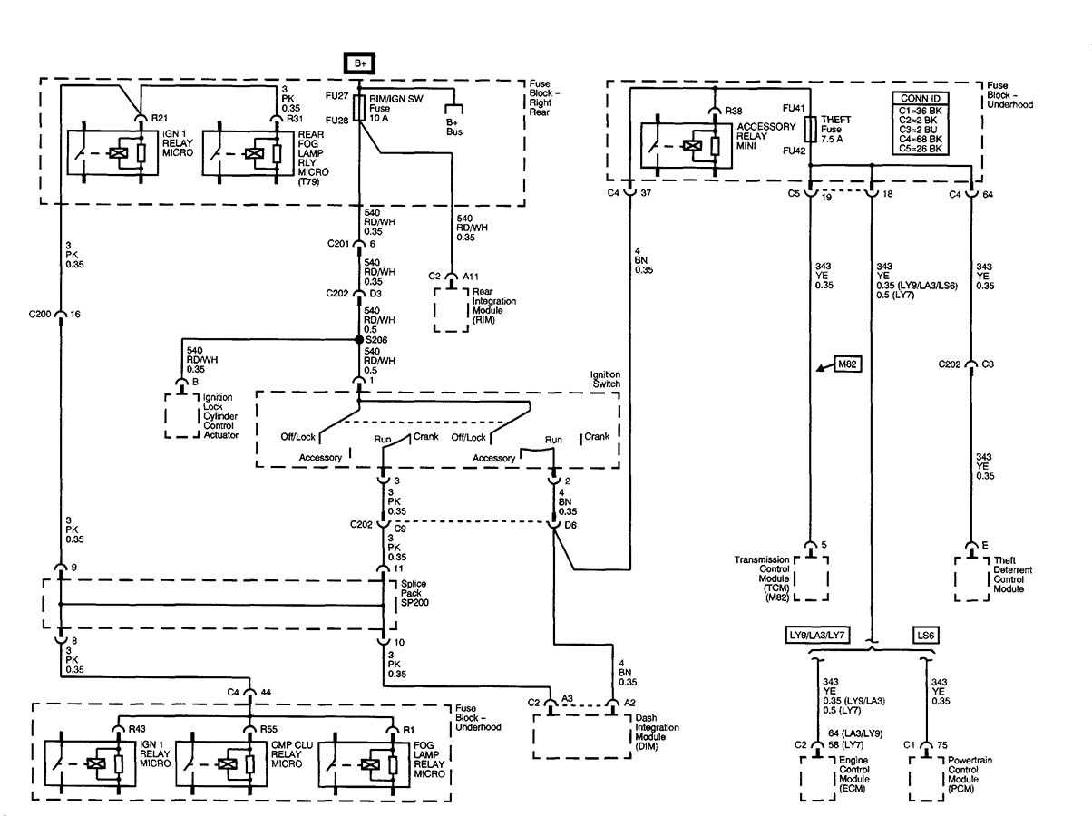 Cadillac Ignition Diagram Wiring Diagrams 2004 Cts I Have A Overnight Drain On My And Checked The Chevy Switch
