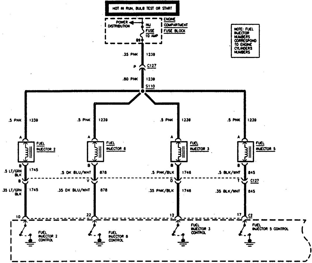 96 caddy deville  engine misfires on  3 and  7 scanner