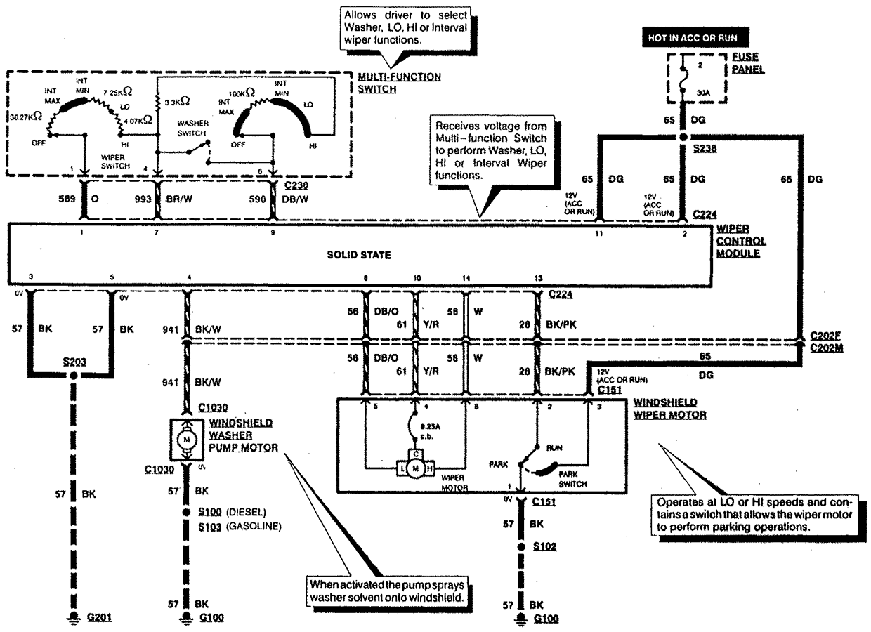 windshield washer wiring diagram  windshield  free engine