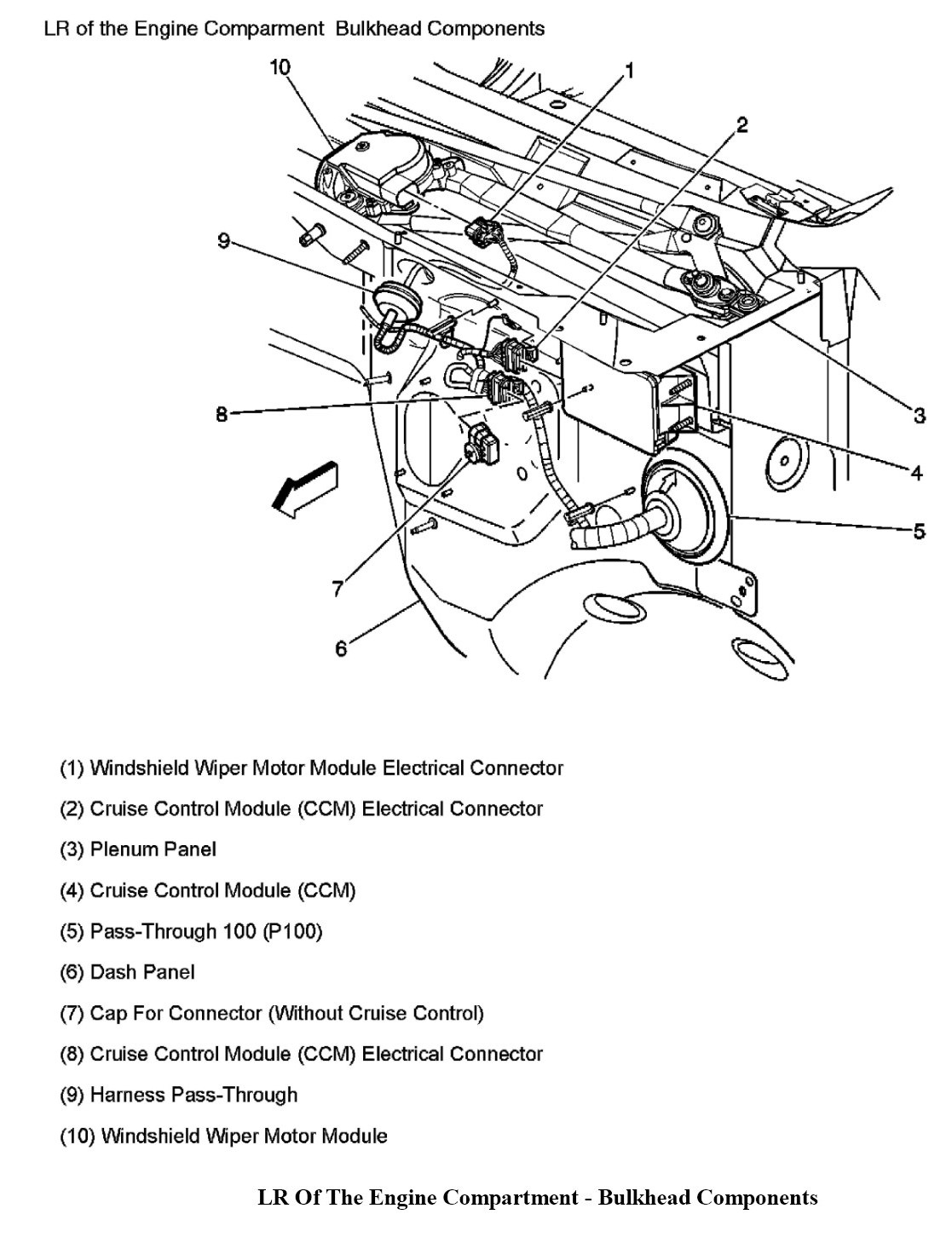 I Need To Replace My Wiper Relay Switch On A 03 Silverado