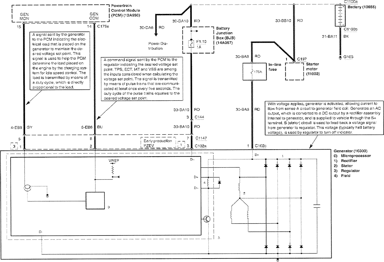 2000 Ford Ranger Alternator Wiring Diagram Solutions Contour Se Fuse F250 News