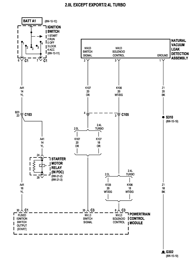 2002 Dodge Neon Wiring Diagram : Dodge neon wiring diagram light free engine image