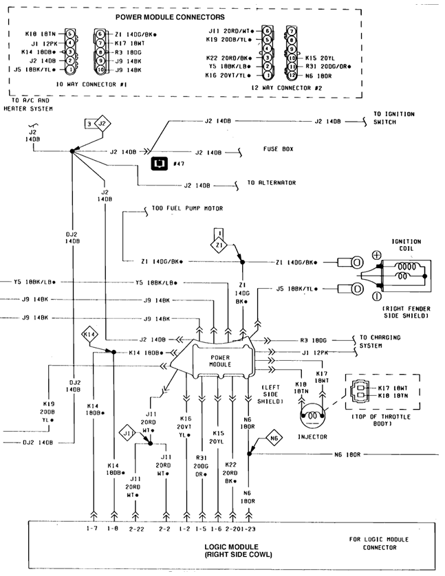 1997 Dodge Ram 1500 Fuel Pump Wiring Diagram : Dodge dakota fuel pump wiring diagram get free