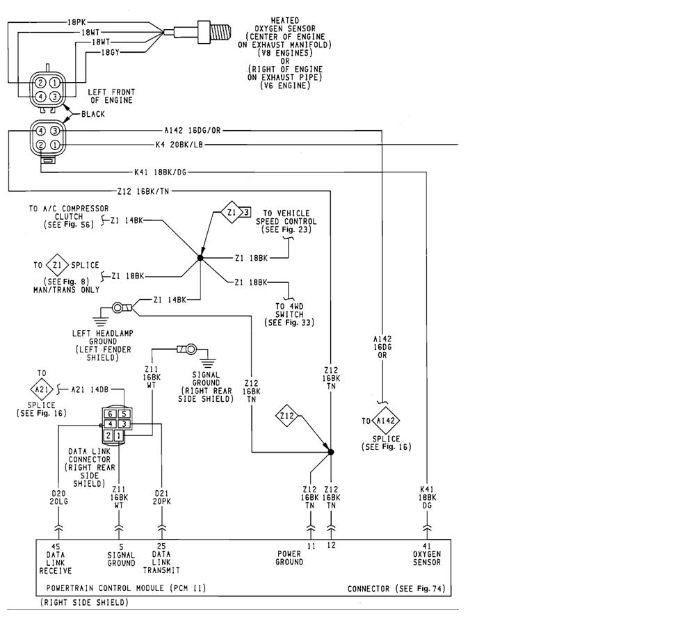 1995 dodge dakota wiring diagram fuse box 02 dodge dakota wiring diagram colors #10