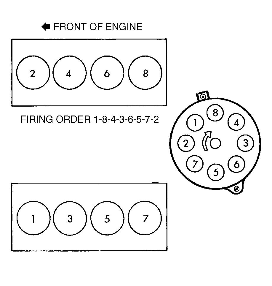 89 chevy 350 firing order diagram html