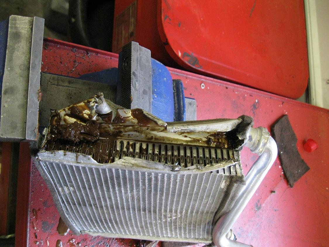 Heater Core on Jeep Cherokee Heater Core