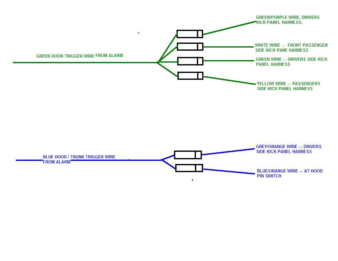 Flex Door Trigger on Viper 350 Plus Wiring Diagram