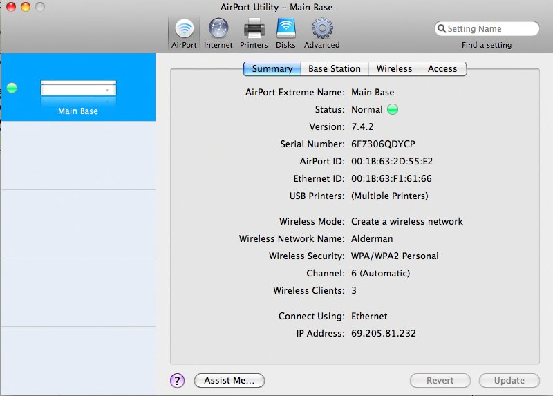 how to set up airport extreme on pc