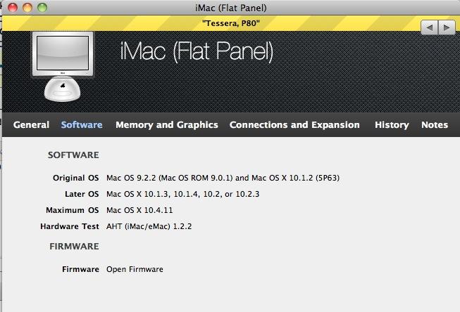 chrome mac os x 10.4.11