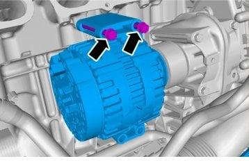 2007 volvo xc90 alternator replacement