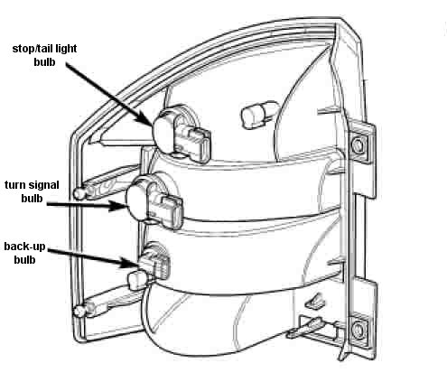 2n9nv Brake Tail Light Changed 2008 Jeep Comp