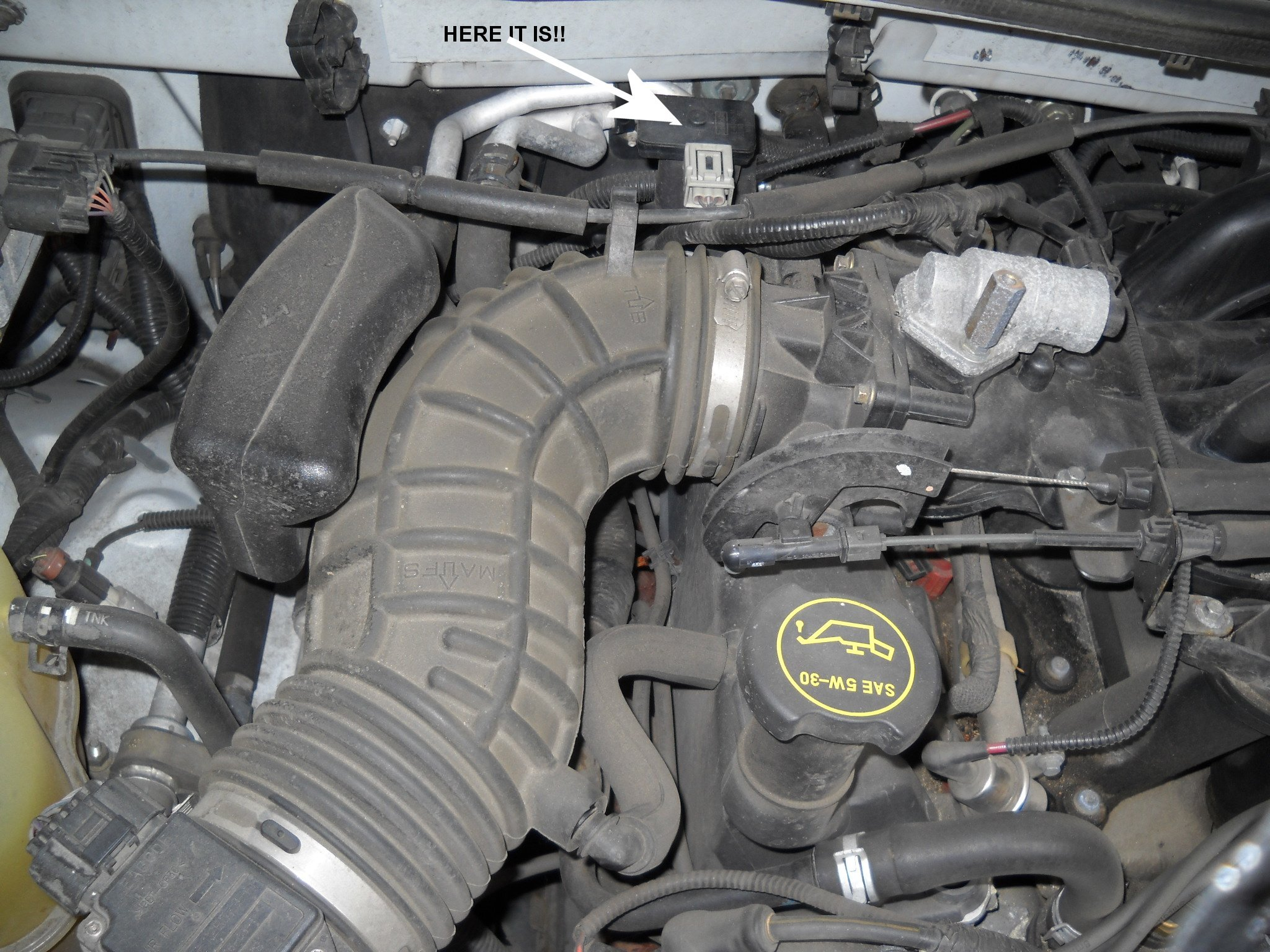 2002 Ford Explorer Vacuum Hose Routing