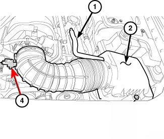 2010 dodge challenger srt8 6 1 liter need diagram of maf iat sensor