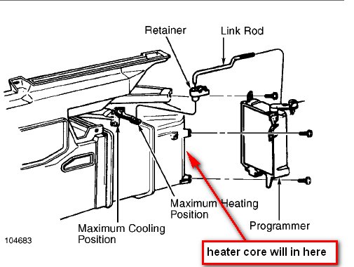 service manual  1992 cadillac seville heater blower