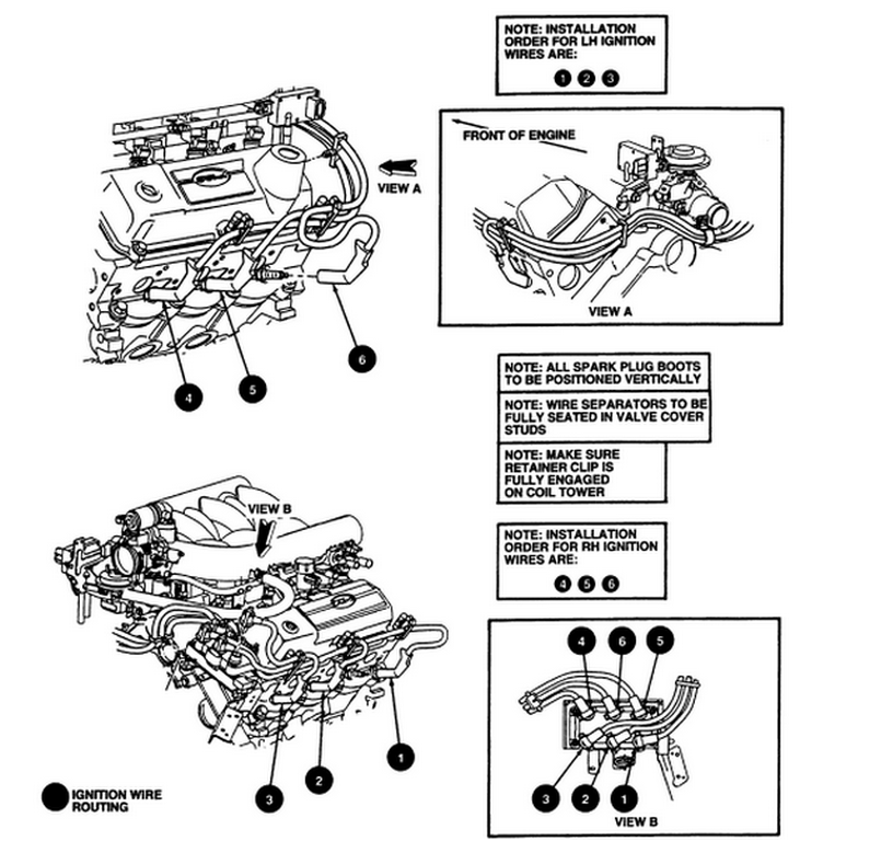 engine spark plug coil replacement