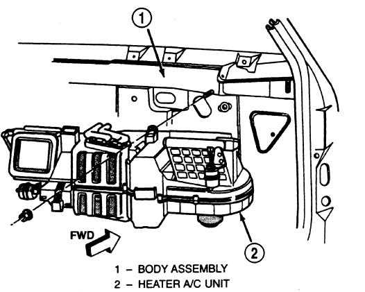 service manual  2009 jeep liberty blower replacement