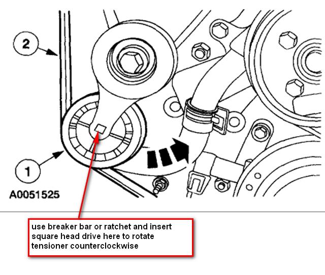 belt tensioner replacement