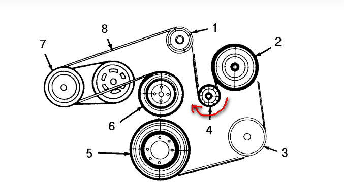 2003 mercury sable how to change timing belt
