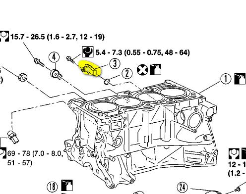 06 Altima Crank Sensor Location on Crankshaft Position Sensor Recall