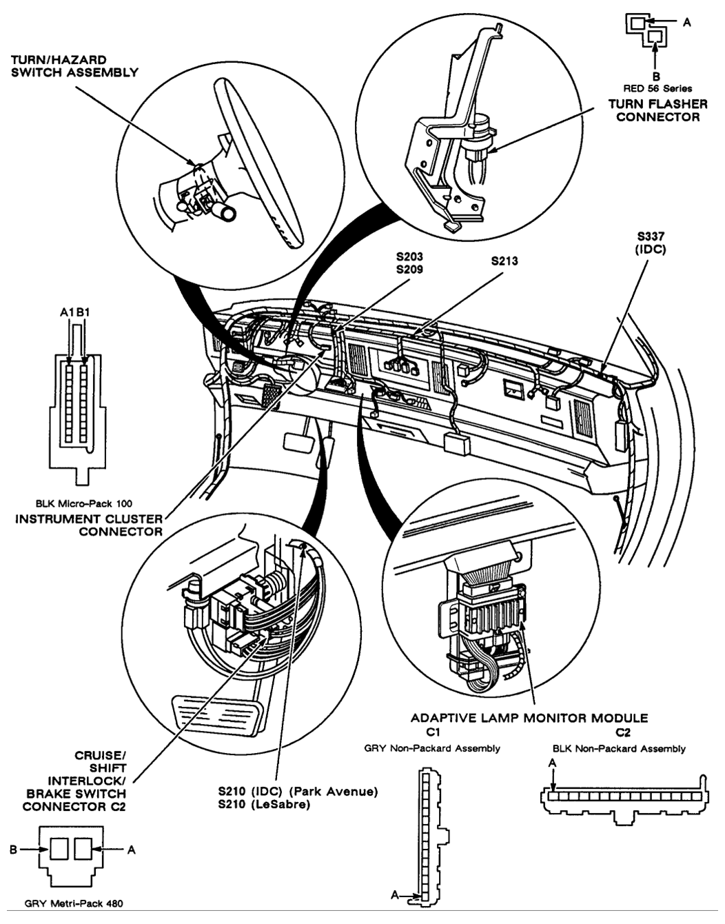 1984 corvette fuse box location