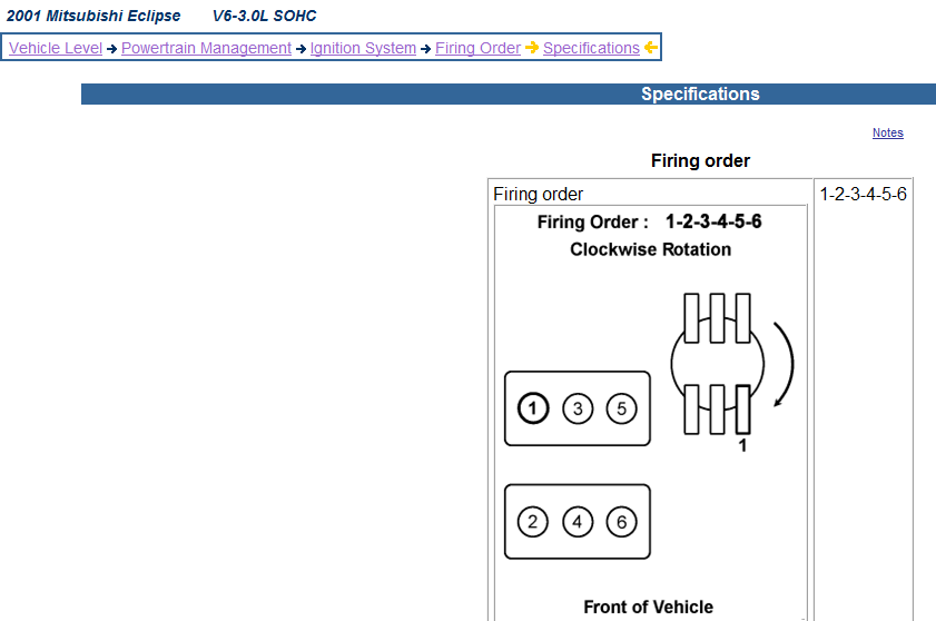 I Think I Put The Spark Plug Wires On My 2001 Eclipse Wrong  Do You Have A Diagram