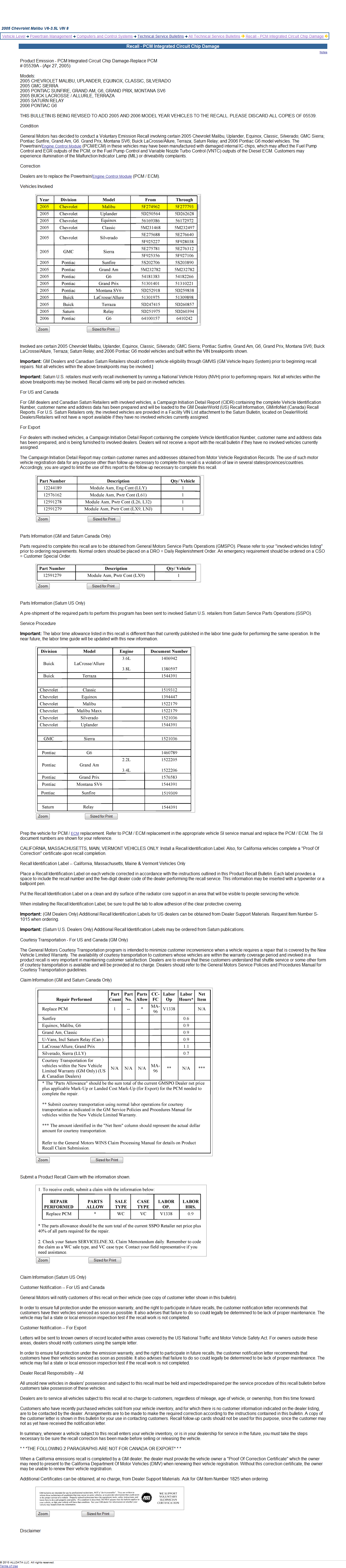 Gm Recalls 2014 By Vin Html Autos Post