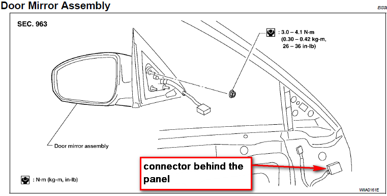 nissan versa 2010 window wiring diagram with Side View Mirrors Wiring Diagram on 96 Lexus Es300 Fuse Box Diagram also 2003 Silverado Cabin Air Filter Location as well 6vtox Fuse Tail Lights 09 Versa Hatchback besides 2005 Nissan Pathfinder Headlight Wiring Diagram as well 123007 Remove Front Door Panel.