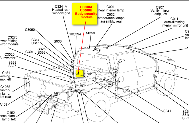 fuse box diagram for 2005 ford freestyle  ford  auto wiring diagram