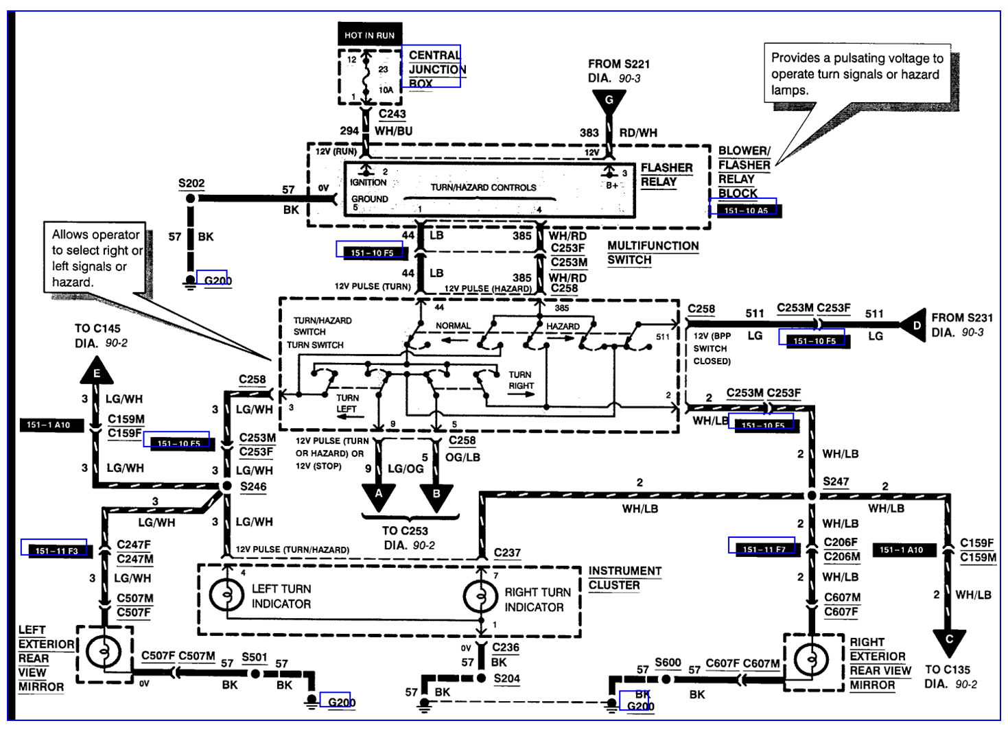 wiring diagram f 250 ford 1988 radio