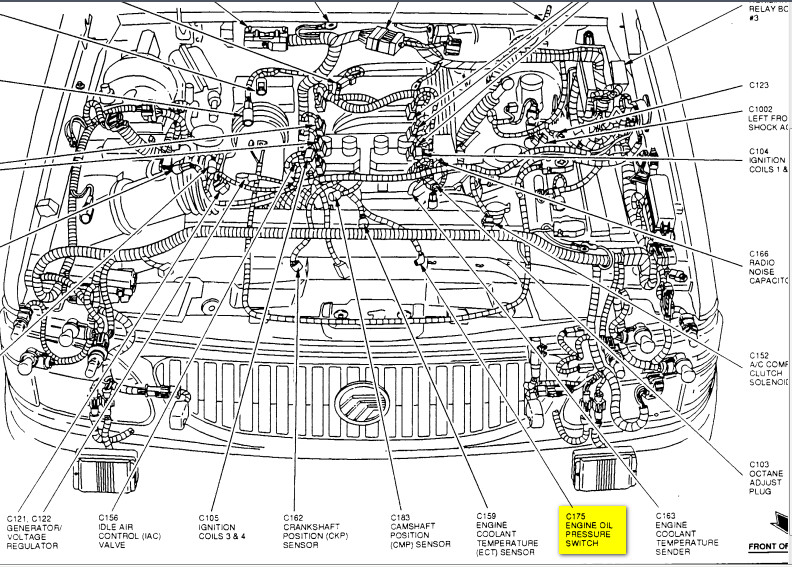 1049232 Possible Hack For P0401 Obd Code Insufficient Egr Flow 3 in addition T19711019 Fuel cut off inertia switch in doblo furthermore 2001 Mercury Mountaineer Engine Diagram furthermore How To Replace A Power Steering Pump together with Front Suspension Diagram. on 2000 mercury cougar fuel filter