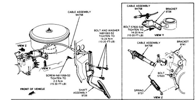 ford 460 firing order diagram
