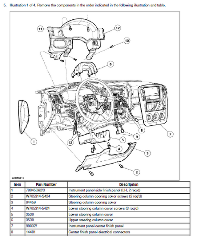 4kwiy Ford Explorer 4x4 Remove Dashboard 2002 Ford on ford f 150 wiring schematic