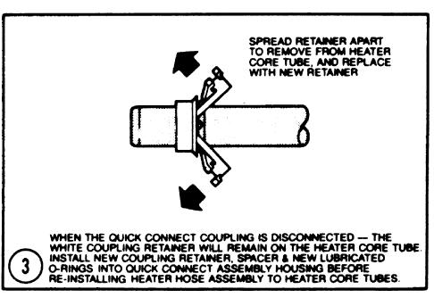 Chrysler Heater Hose Disconnect Tool