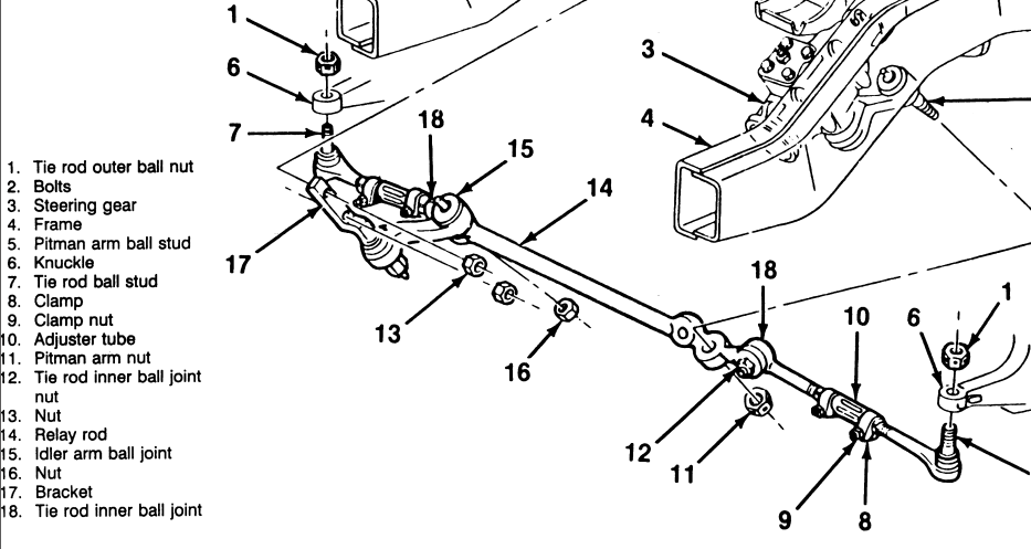 ford focus front suspension diagram