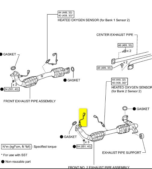 2iw67 2001 Toyota Solara Air Fuel Sensor Oxygen Sensor V6 3 0l also 589242 Oxygen Sensor Replacement B2 S1 besides 2002 Toyota Tundra O2 Sensor Locations besides 7wwb8 Toyota Tundra Sr5 Knock Sensor Located in addition Discussion T12083 ds543323. on toyota 2000 tundra sensors locations