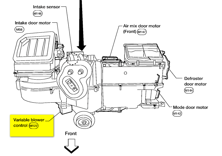 Service manual [2009 Nissan Titan Ac Blower Removal ...