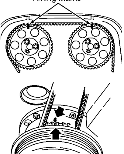 need timing belt diagram xc90 2 9