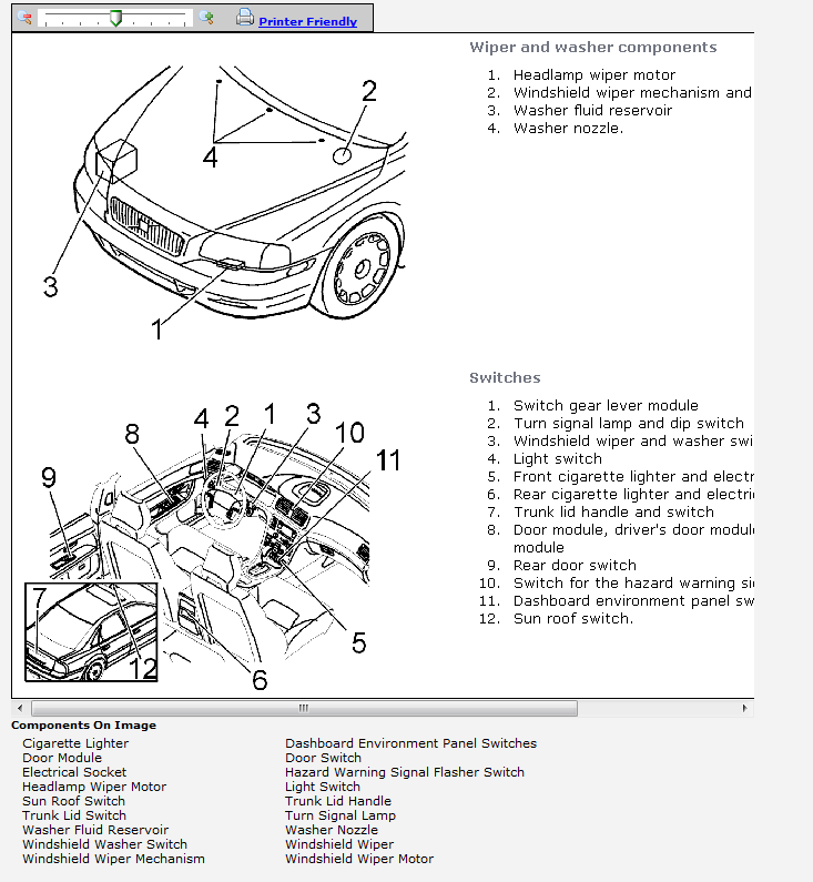 volvo s40 console parts diagram  volvo  auto wiring diagram