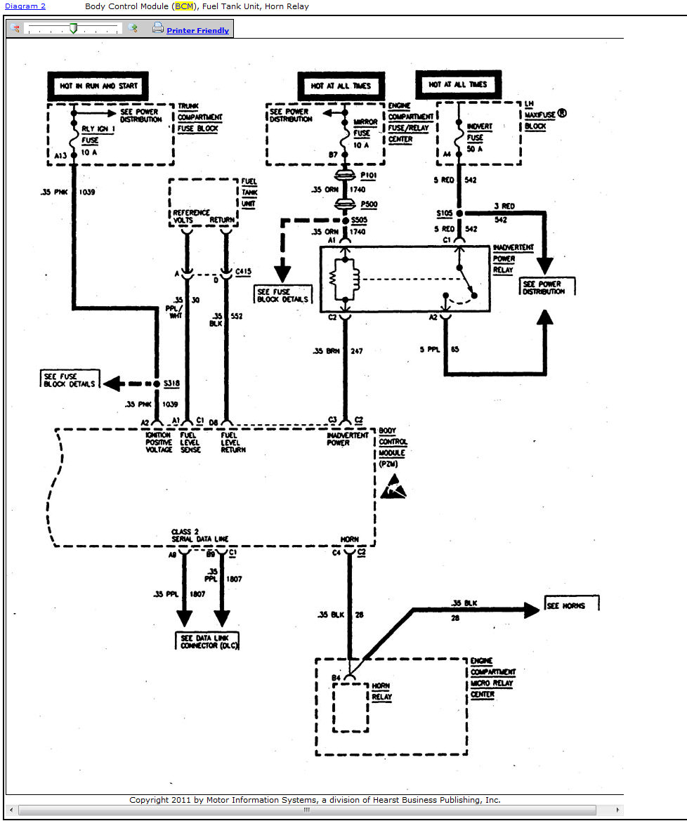 260273 Cadillac Cts Starter Relay on Cadillac Sts Fuse Box Diagram