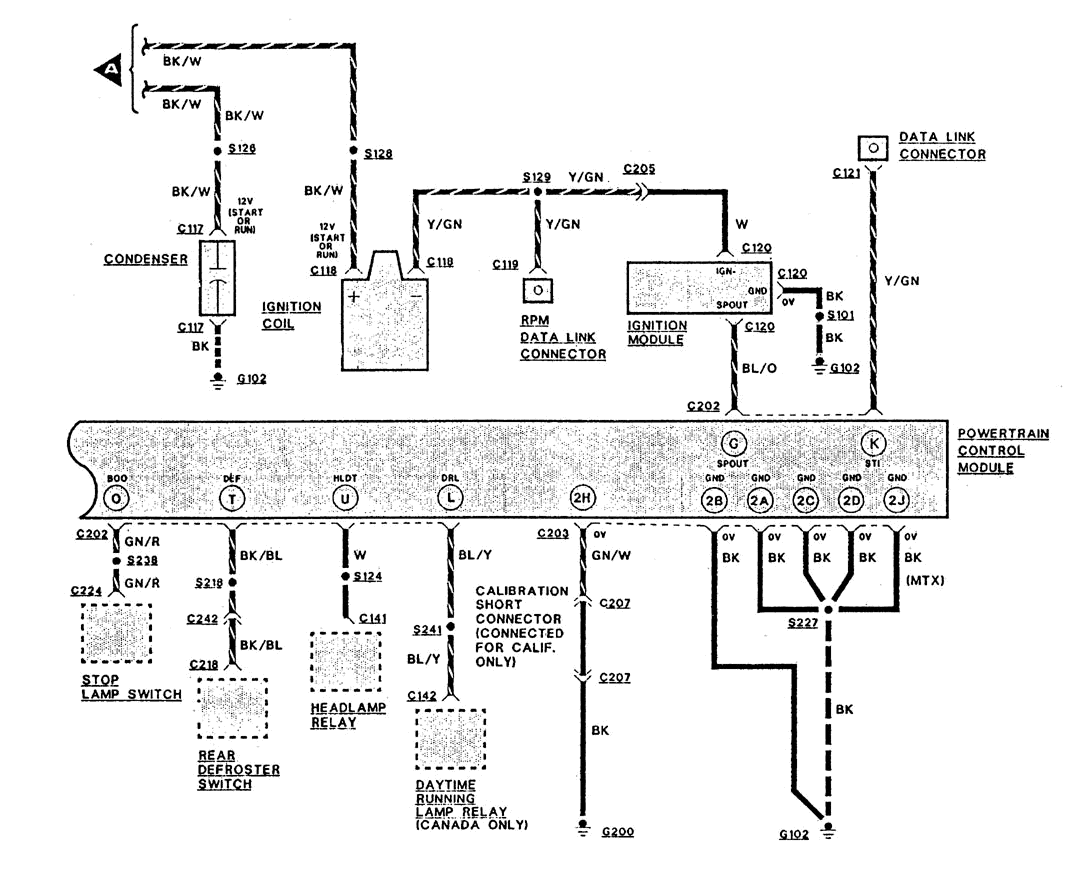 1996 Ford Probe Radio Wiring Diagram Diagrams Stereo 2001 F150 Electronic 1989 96