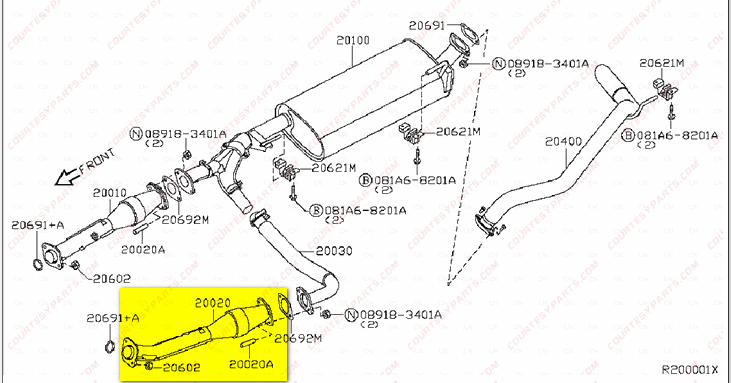 Nissan Frontier Catalytic Converter Location Get Free