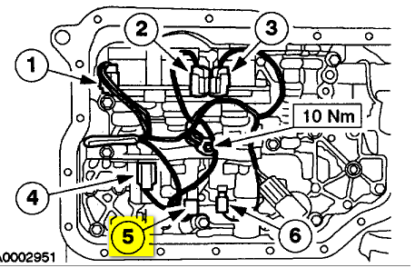 2006 Chevy Aveo Engine Diagram together with 163950 2003 Ford F150 Shift Solenoid together with Transmission Solenoid Diagram Wedocable in addition 94 Accord Ignition Coil Location likewise 96 Ford Ranger Shift Solenoid Location. on 2001 ford f 150 transmission control solenoid location