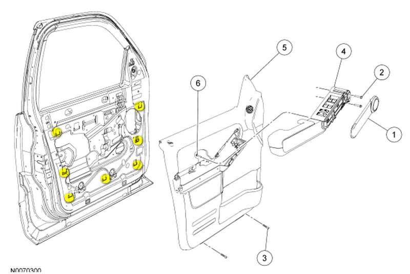 ford explorer door handle diagram html