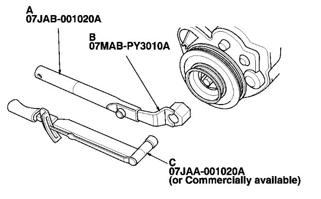 i am trying to replace a timing belt on a 2002 honda