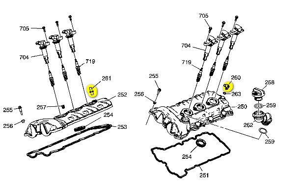 on 2000 Ford Contour Throttle Position Sensor