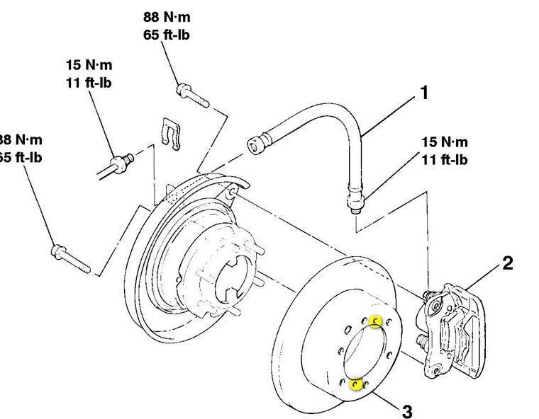 how do i get the rear rotors off of a 2002 mitsubishi