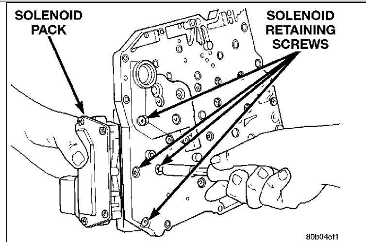 diagram of how a 2000 chrysler 300m transmission is