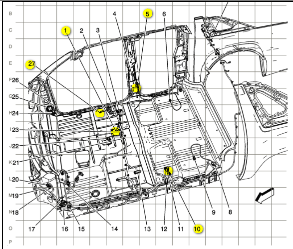 does anyone have a wiring diagram from all the ground ... for a 2003 gmc yukon wiring diagram